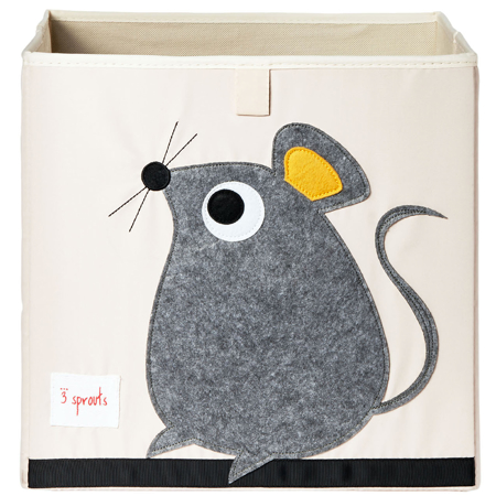 Picture of 3Sprouts® Toy Storage Box Mouse