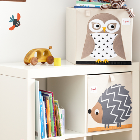 3Sprouts® Toy Storage Box Owl