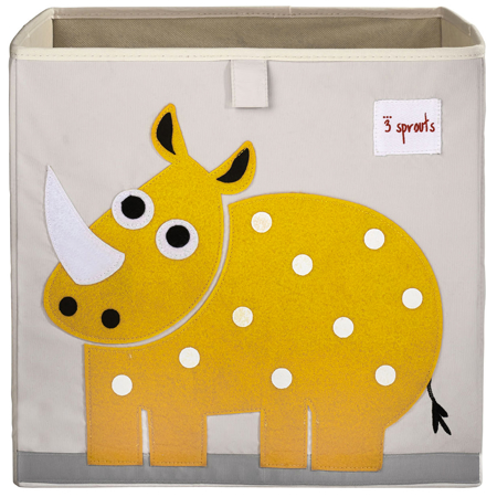 Picture of 3Sprouts® Toy Storage Box Rhino