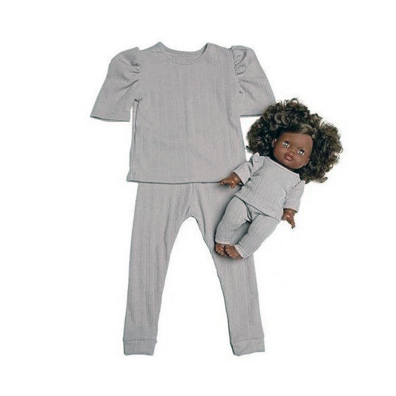Picture of Minikane® Duo Collection MYA Jersey set Gris