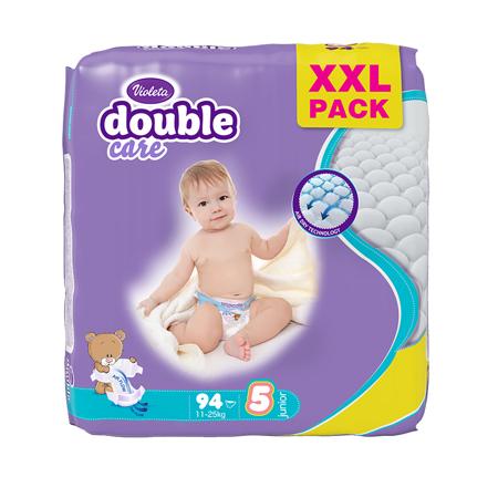 Picture of Violeta® Diapers Air Dry XXL 5 Junior (11-25kg) 94/1