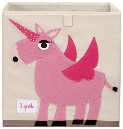 Picture of 3Sprouts® Toy Storage Box Unicorn