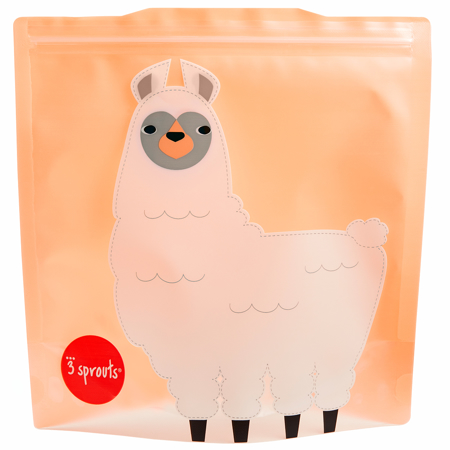 Picture of 3Sprouts® Sandwich Bag (2 pack) Lama