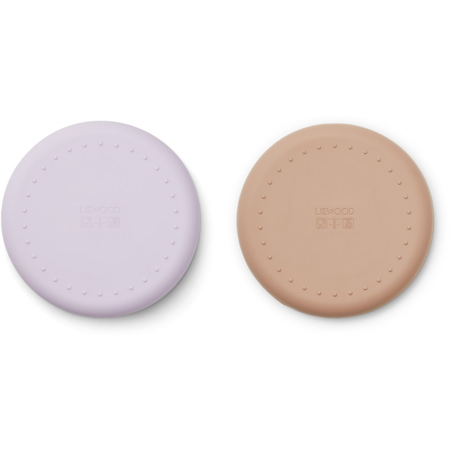 Picture of Liewood® Gordon Plate 2 Pack - Cat light Lavender Rose Mix