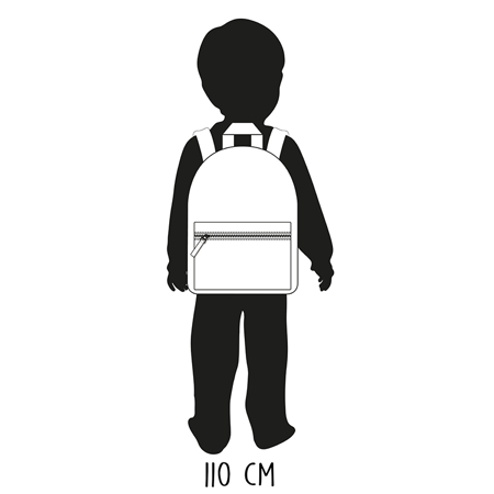 Picture of Kidzroom® Backpack Lucky Me Black