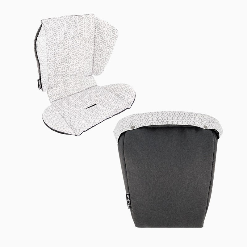 Picture of Twistshake® Tour Seat Liner + Foot Muff Black