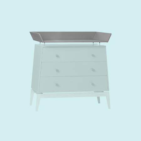 Leander® Changing Unit For The Leander Luna™ Dresser Grey