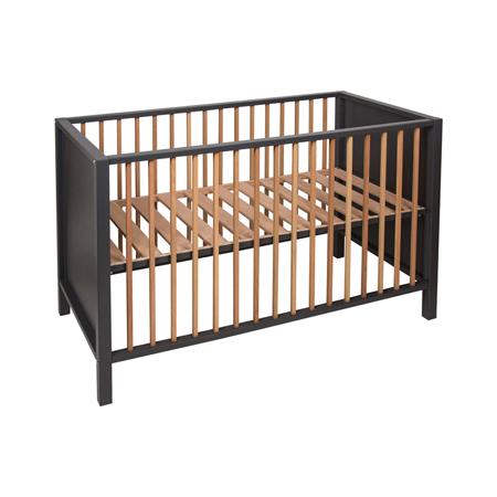 Quax® Baby Cot/Bench Nordic 120x60 Moon Shadow / Natural