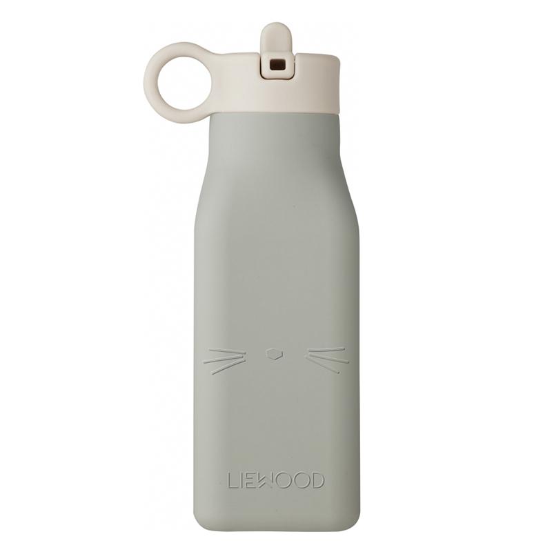 Picture of Liewood® Warren Bottle Cat Dove Blue 350ml