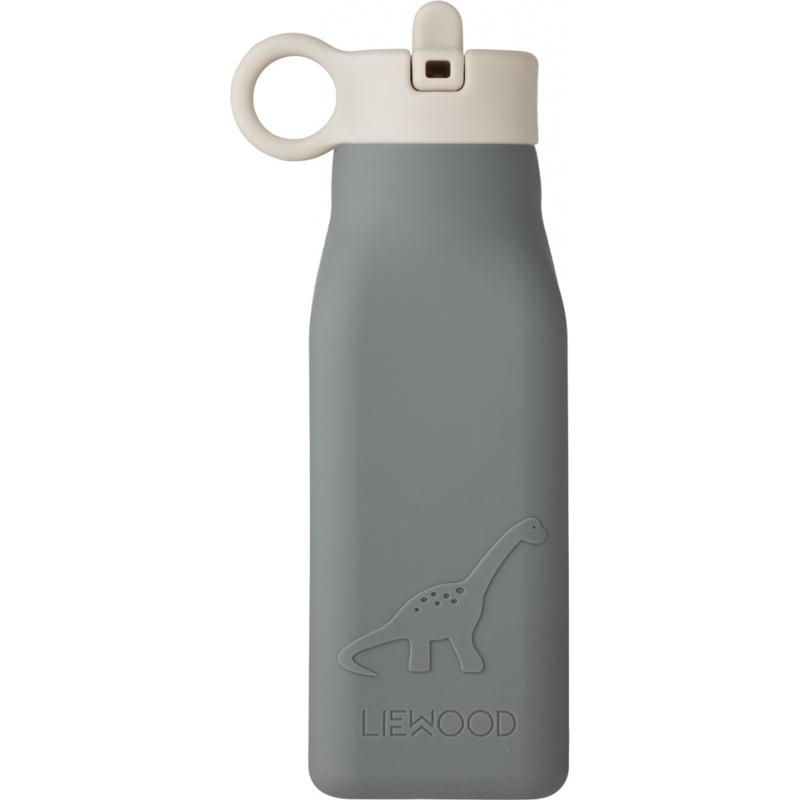 Picture of Liewood® Warren Bottle - Dino blue wave 350ml