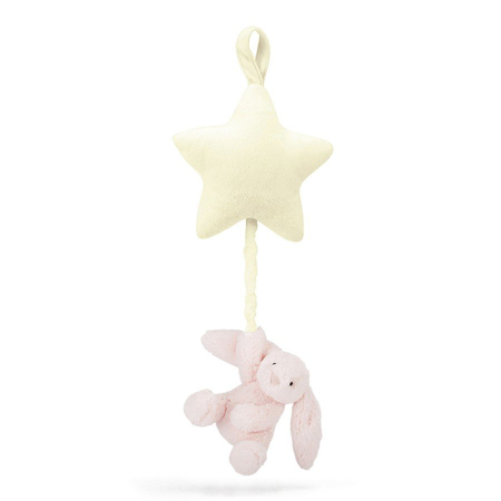 Picture of Jellycat® Bashful Pink Bunny Musical Pull 28cm