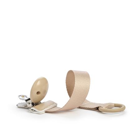 Picture of Elodie Details® Pacifier Clip Pure Khaki