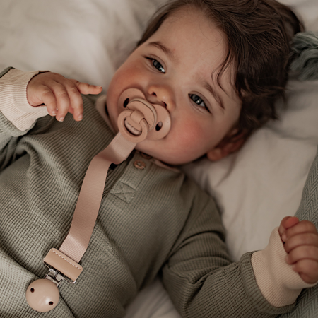 Picture of Elodie Details® Pacifier Clip Blushing Pink