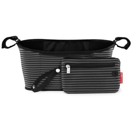 Picture of Skip Hop® Grab&Go Stroller Organizer Black & Grey Stripe