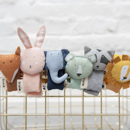 Picture of Trixie Baby® Wrist rattle Mrs. Rabbit
