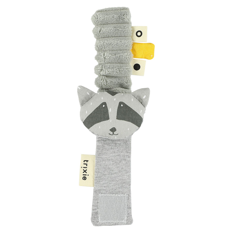 Picture of Trixie Baby® Wrist rattle Mr. Raccoon