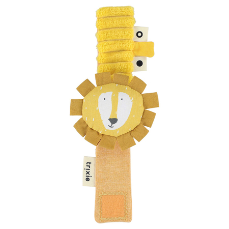 Picture of Trixie Baby® Wrist rattle Mr. Lion