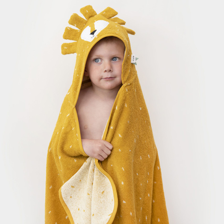 Picture of Trixie Baby® Hooded towel 75x75 - Mr. Lion