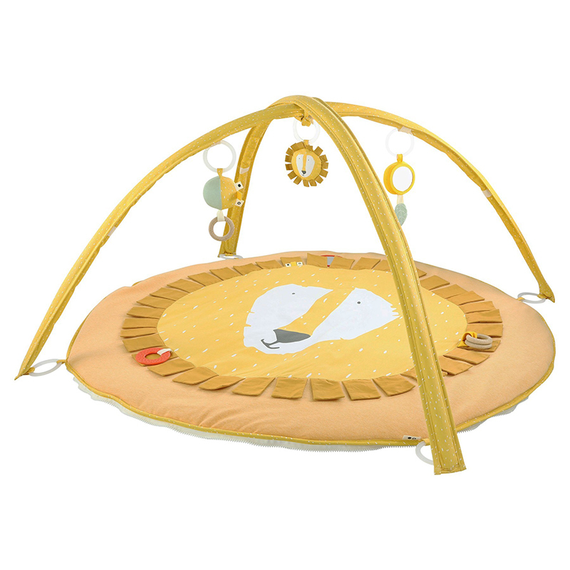Picture of Trixie Baby® Activity play mat with arches - Mr. Lion