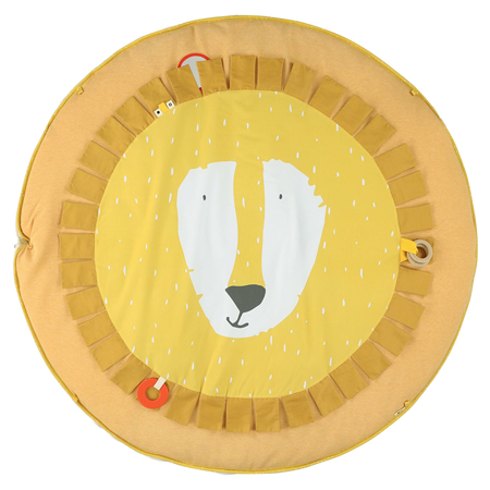 Trixie Baby® Activity play mat with arches - Mr. Lion