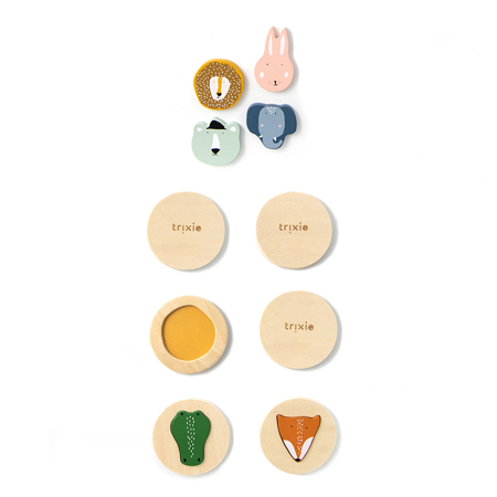 Picture of Trixie Baby® Wooden matching game