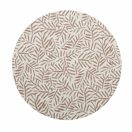 Picture of Toddlekind® Clean Wean Mat Leaves Sea Shell