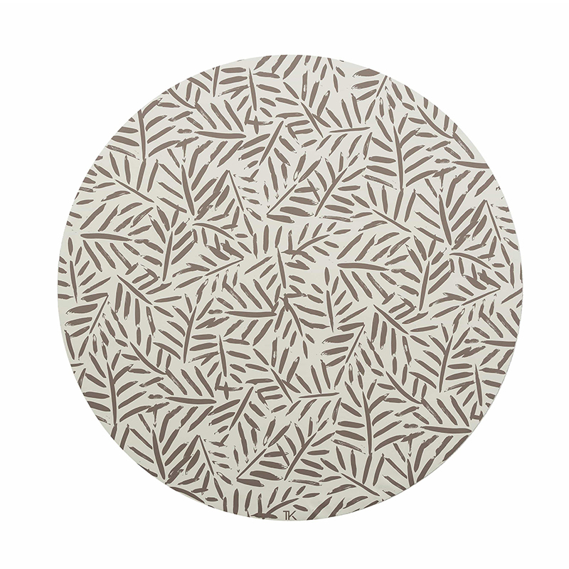 Picture of Toddlekind® Clean Wean Mat Leaves Leaves Tan