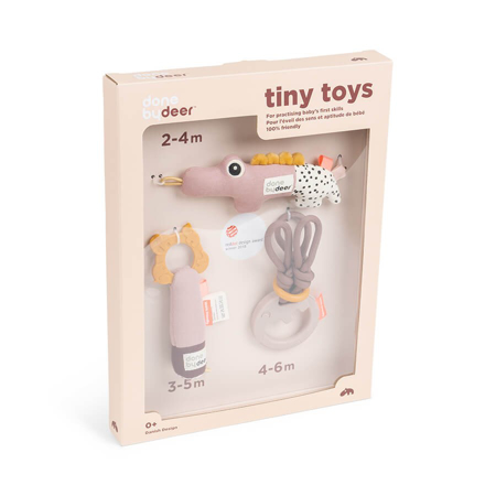 Picture of Done by Deer® Tiny Activity Toys Gift Set Powder