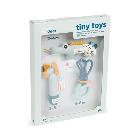 Picture of Done by Deer® Tiny Activity Toys Gift Set Blue