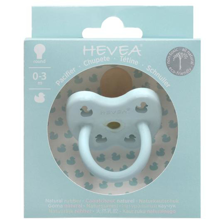 Picture of Hevea® Pacifier Orthodontic (0-3m) Gorgeous Grey