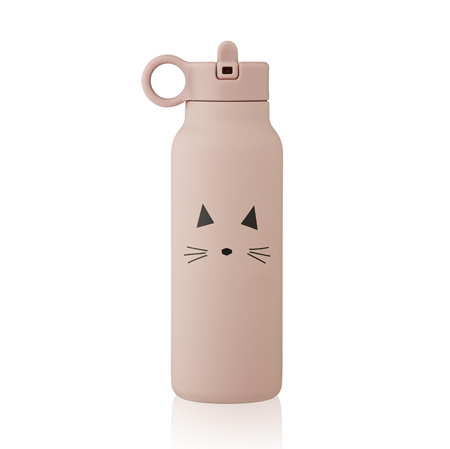 Picture of Liewood® Falk water bottle 350 ml Cat rose