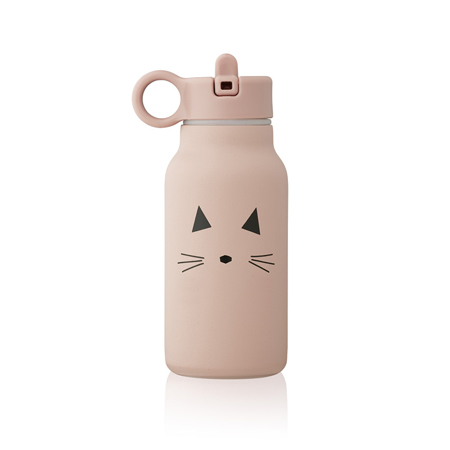 Picture of Liewood® Falk water bottle 250 ml Cat rose