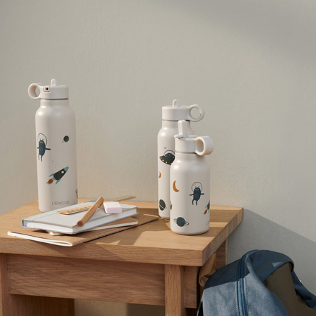 Picture of Liewood® Falk water bottle 250 ml Space Sandy Mix