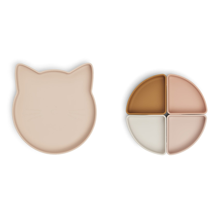 Picture of Liewood® Arne divider plate Cat Rose Multi Mix