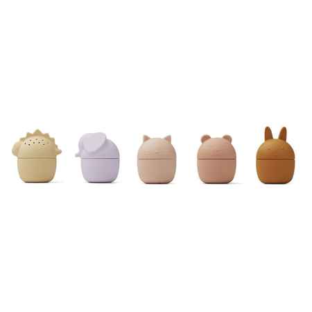 Liewood® Gaby bath toys 5-pack Rose Multi Mix