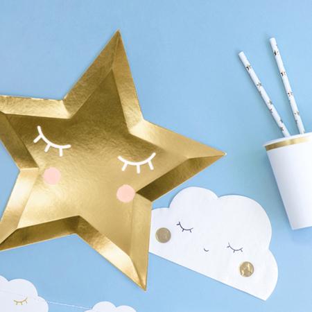 Picture of Party Deco® Napkins Cloud 20 pc.