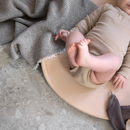 Picture of Sebra® PUSLE PUR changing mat Straw Beige