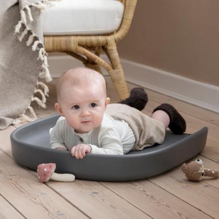 Picture of Sebra® PUSLE PUR changing mat Dew Grey