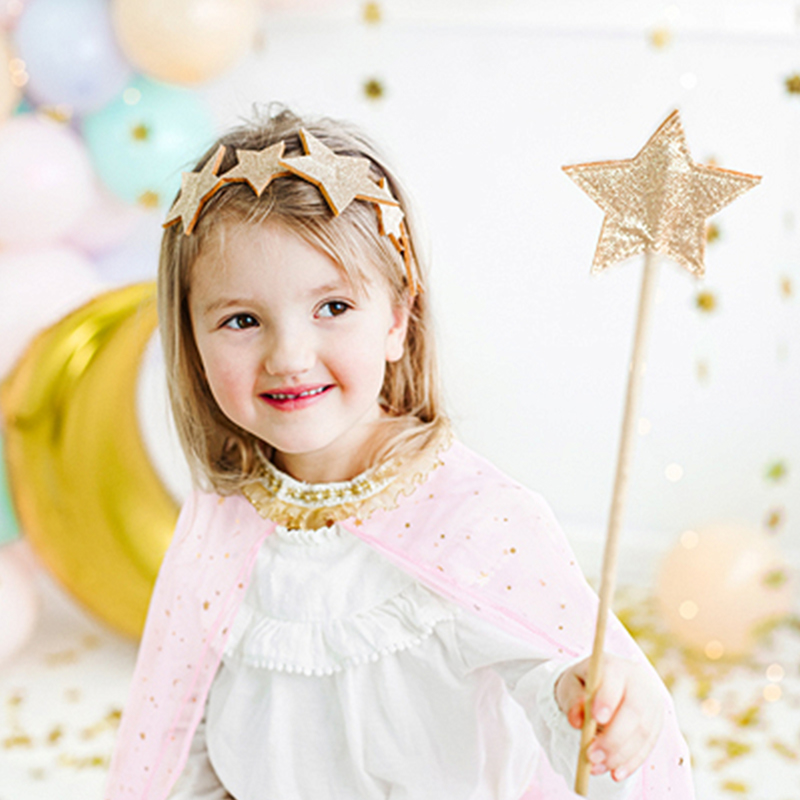 Picture of Party Deco®Headband Stars  Gold
