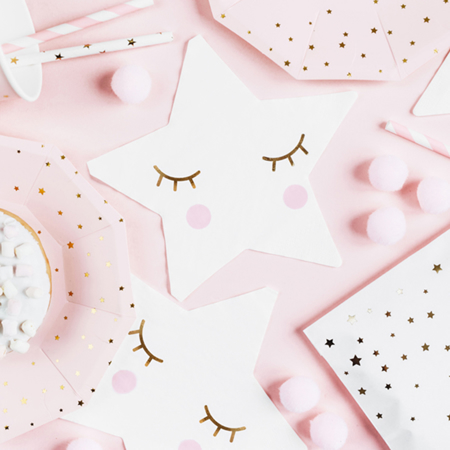 Picture of Party Deco® Napkins 3 layers Little Star 20 pc.