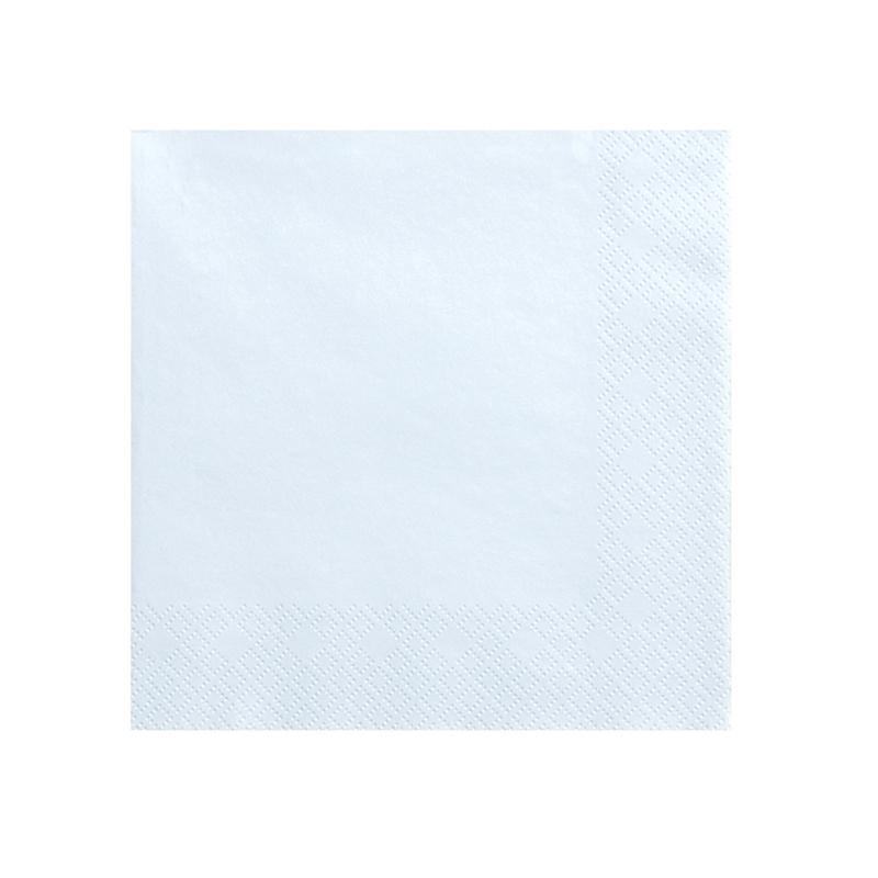Picture of Party Deco® Napkins 3 layers Light Sky Blue 20 pcs.