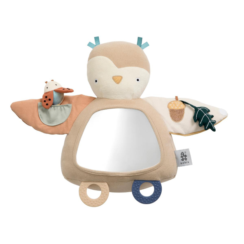 Picture of Sebra® Activity toy Blinky the owl Maple Beige
