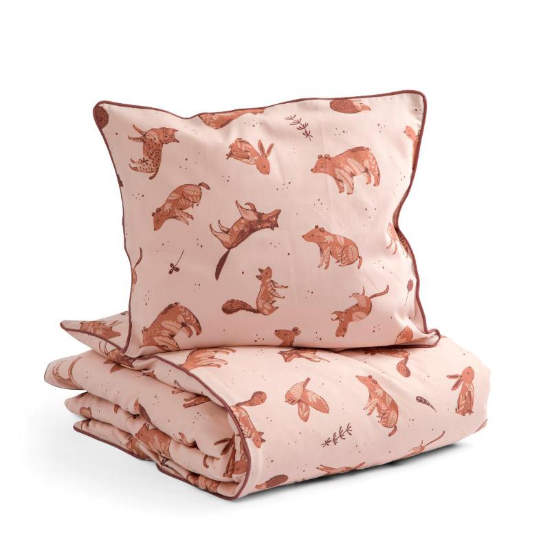 Picture of Sebra® Bed linen Baby Nightfall Dreamy Rose 70x100