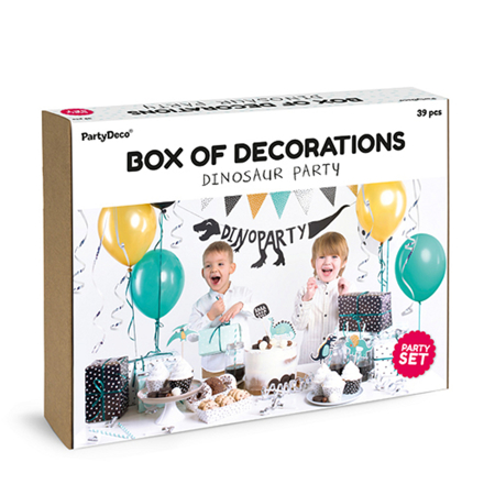 Picture of Party Deco® Party decorations  set - Dinosaurs 39 pc.