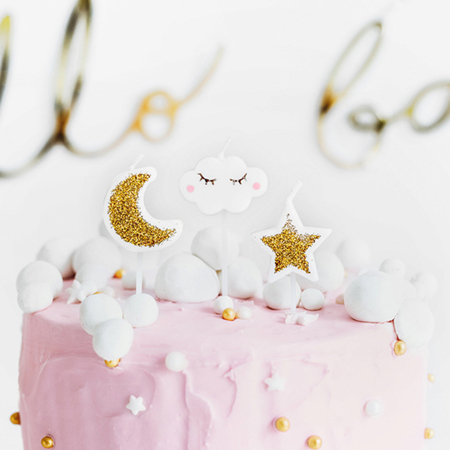Party Deco® Birthday Candles Kitty  6pc.