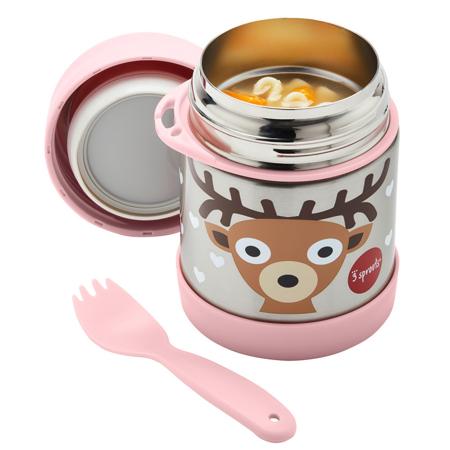 3Sprouts® Stainless Steel Food Jar Deer