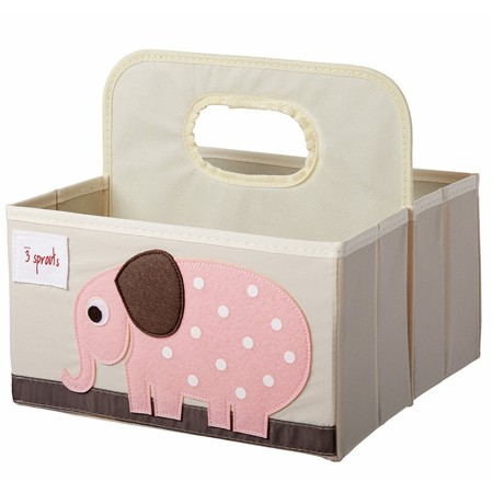 Picture of 3Sprouts® Diaper Caddy Elephant