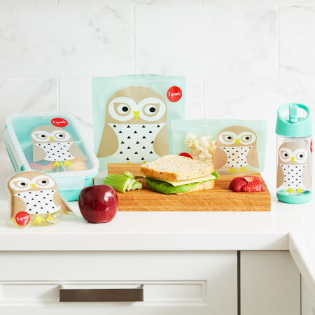 3Sprouts® Sandwich Bag (2 pack) Owl