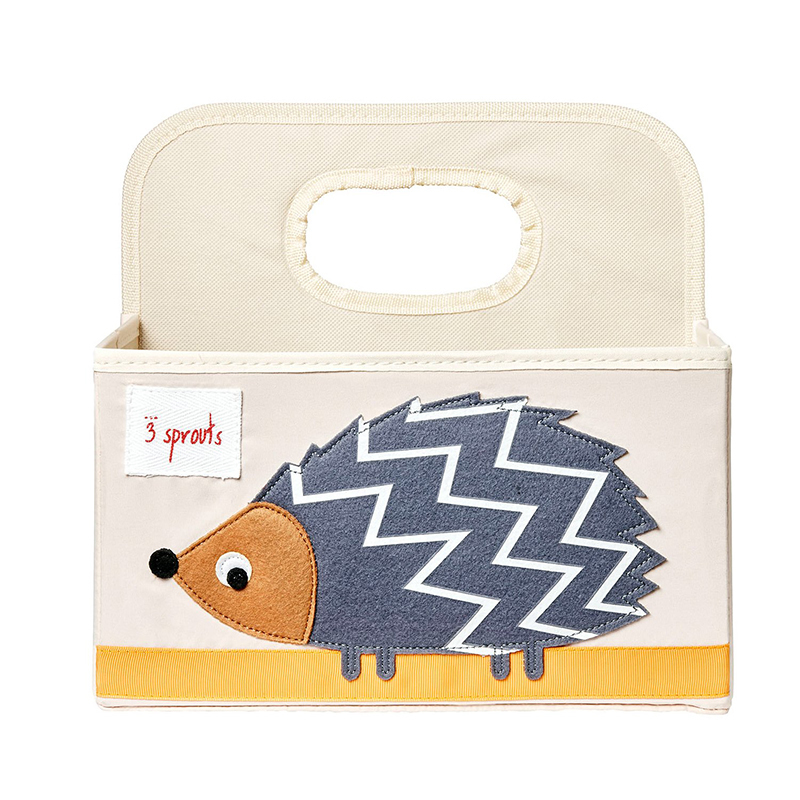 Picture of 3Sprouts® Diaper Caddy Hedgehog