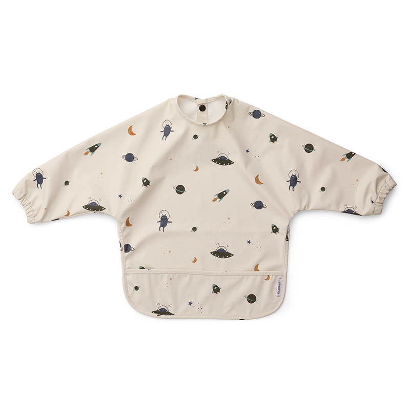 Picture of Liewood® Merle cape bib Merle Space Sandy Mix